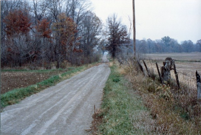 Dirt Road -Decatur, Indiana c. 1986